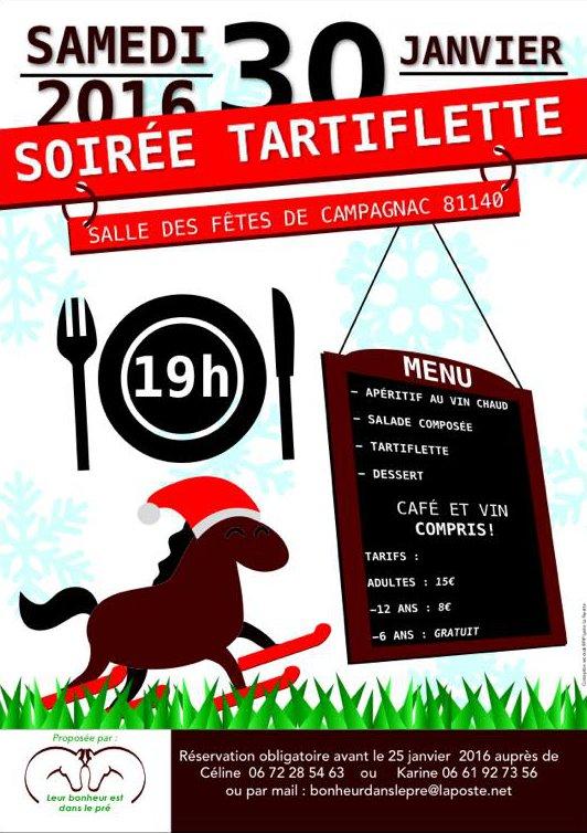 2016 Soirée tartiflette