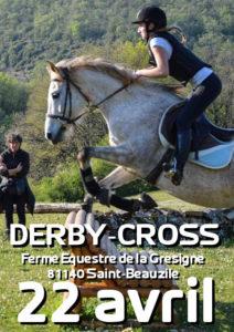 derby-cross d'entrainement