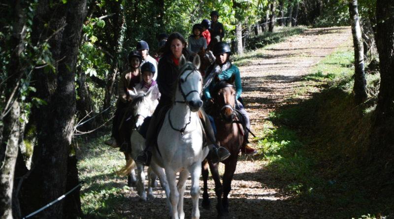 balade équitation Tarn